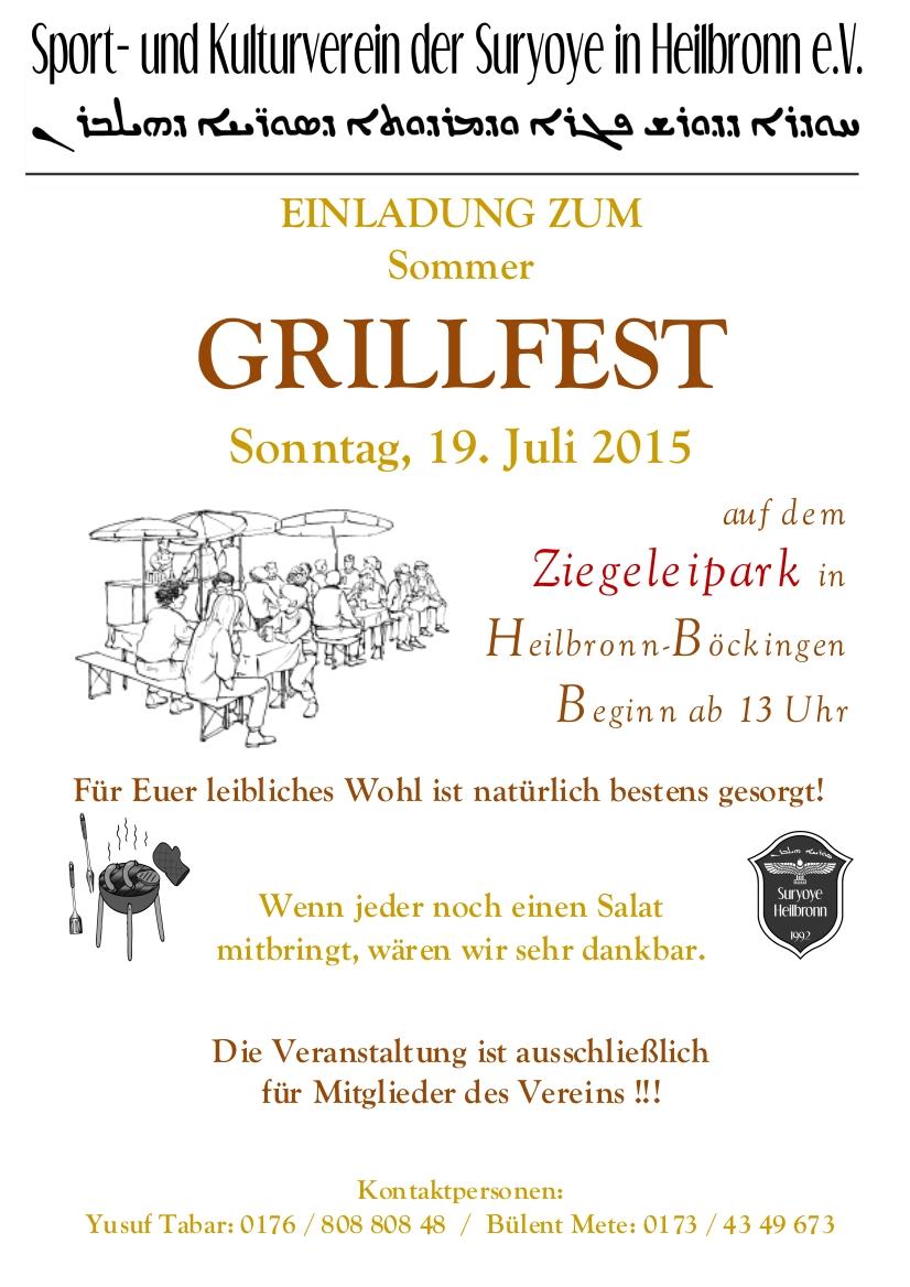 Einladungstext Fur Grillfest Images. Einladungstext Fr ...